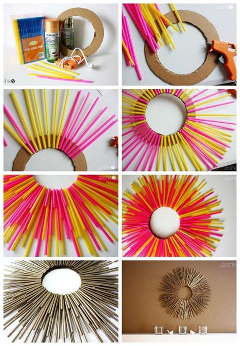 creative crafts for 25 best ideas about straw crafts on