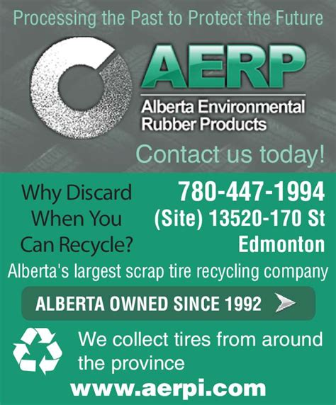edmonton rubber st alberta environmental rubber products opening hours