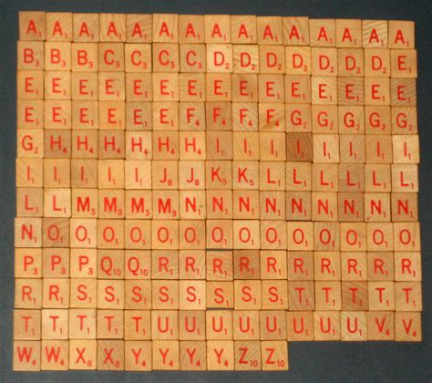 anagram and scrabble sold 175 wood with letters anagram scrabble