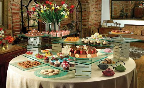 buffet table risers buffet risers surfaces serving displays