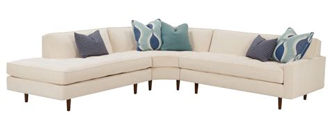 mid century sectional sofa mid century modern sectional with tufted seat and tight