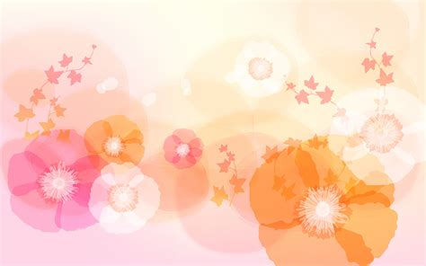 light flowers light color background wallpaper
