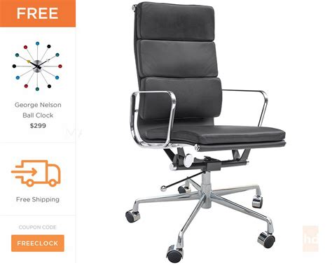 Eames Aluminum Executive Chair by Eames Soft Pad Executive Chair Eames Office Chair