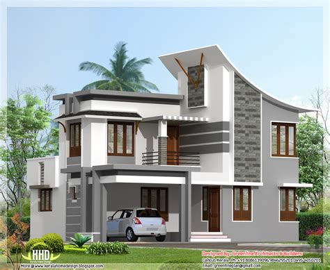 modern 3 bedroom house design modern 3 bedroom house in 1880 sq kerala home