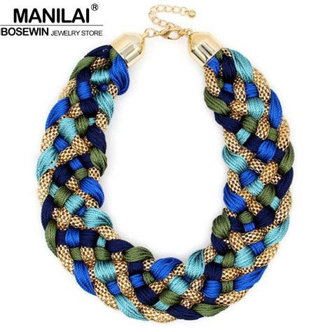 large for jewelry aliexpress buy manilai fashion weaved handmade big