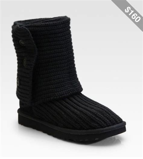 black knitted uggs black knit uggs sale