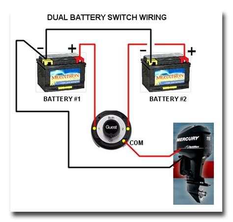 how to wire lights to a battery manual marine battery switch boat wiring easy to