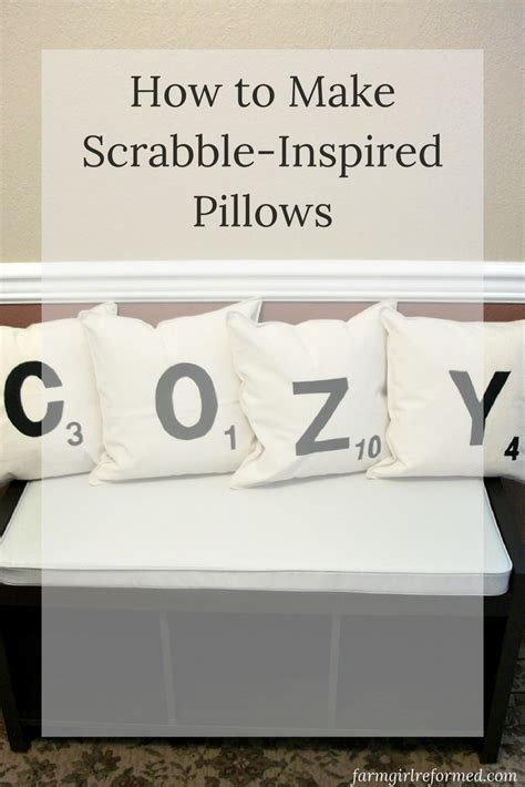 how to win at scrabble scrabble pillow tutorial farm reformed