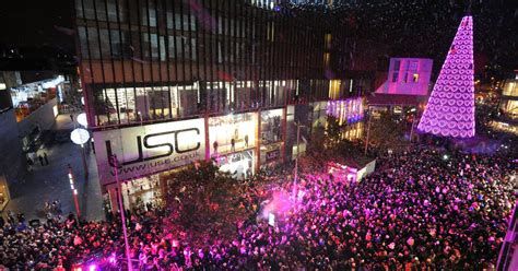 real trees liverpool date announced for liverpool one lights switch