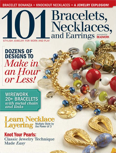 bead and jewellery magazine beading daily 101 jewelry design magazine now