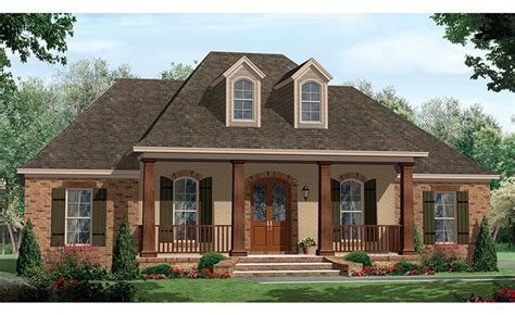 single story house plan 14 wonderful single story house plans with front porch