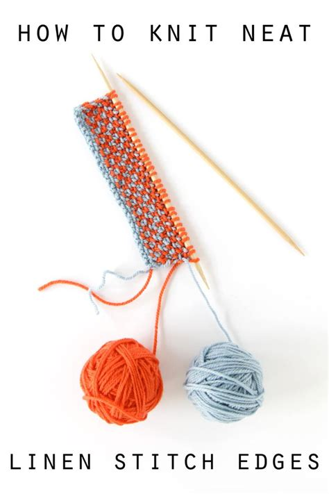 how does it take to knit a scarf best 25 linen stitch ideas on