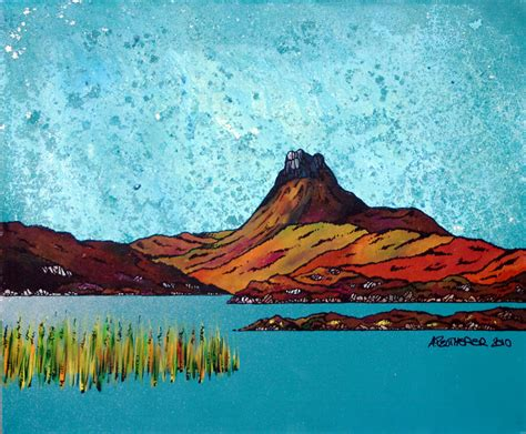 spray painting scotland paintings prints of the scottish highlands by scottish