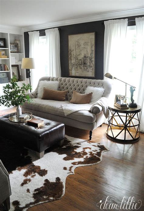 decorating with rugs 25 best ideas about cowhide rugs on cowhide