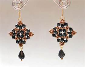 free beaded earring patterns free pattern for beautiful beaded earrings magic