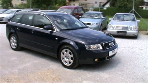 Audi A4 2004 Review by 2004 Audi A4 Avant Quattro 2 5 V6 Tdi Review Start Up
