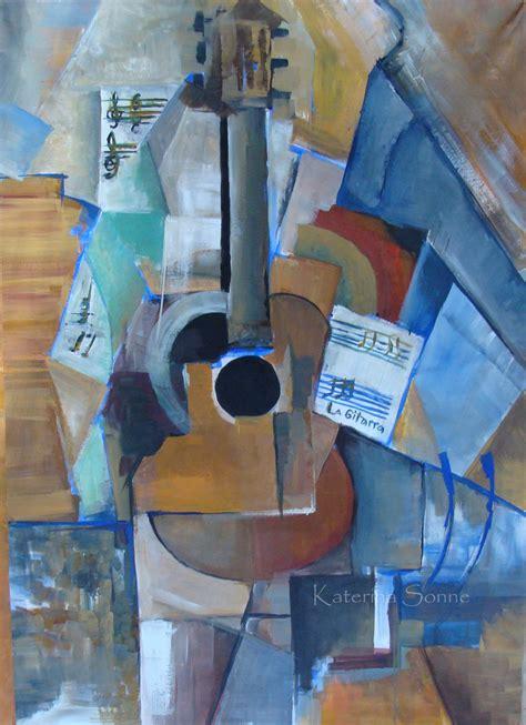 picasso paintings guitar guitar a la picasso by katerinasonne on deviantart