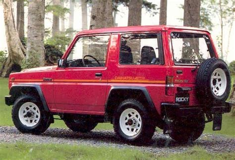 Daihatsu Rocky Review by Daihatsu Rocky 1989 Review Amazing Pictures And Images