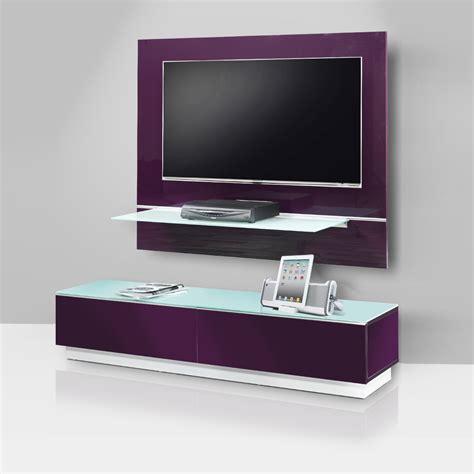 meuble tv bas et mural avec support tv et syst 232 me collecte de c 226 bles int 233 gr 233 design et 233 l 233 gant