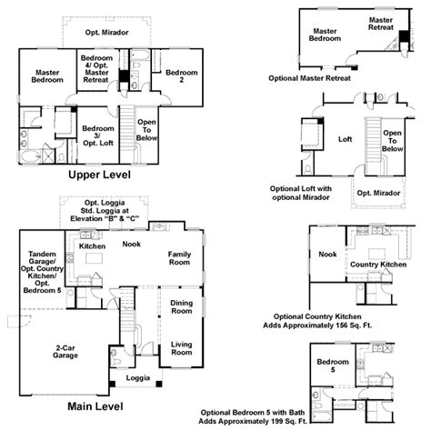 richmond homes floor plans ladera in summerlin by richmond american homes