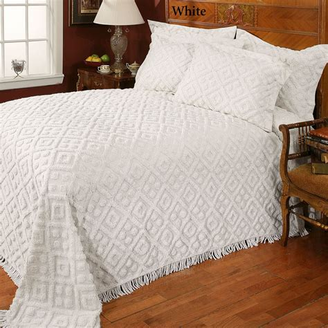 bed spreads for cotton chenille bedspread bedding