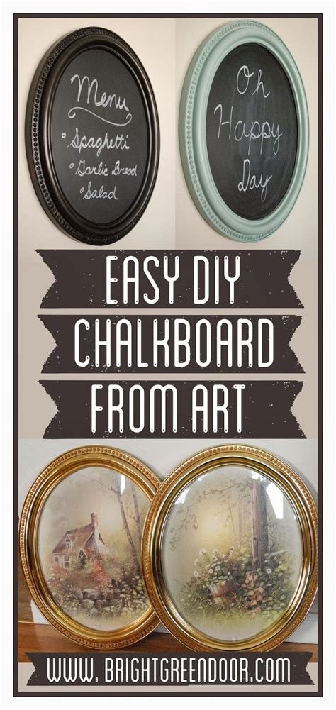 chalk paint frames diy best 20 chalkboard picture frames ideas on