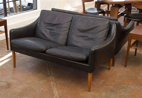 two seater leather sofa sale hans leather two seater sofa for sale at 1stdibs