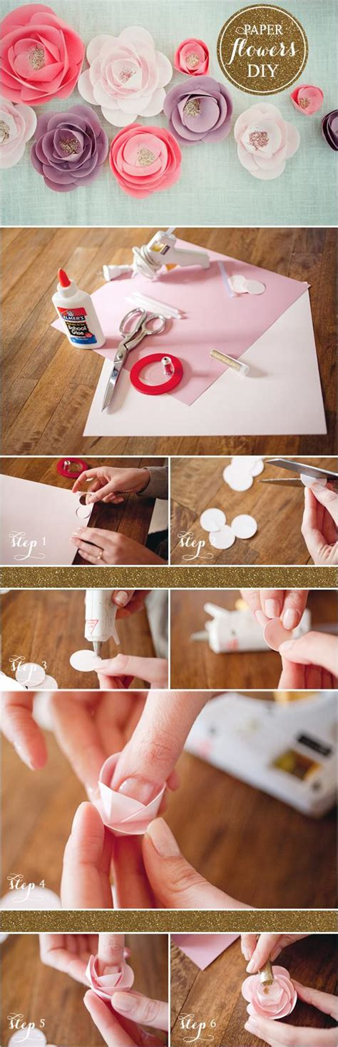 how to make from flowers diy how to make paper flowers 792791 weddbook