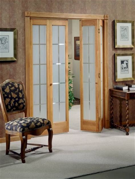 interior folding glass doors frosted glass panel interior folding doors home