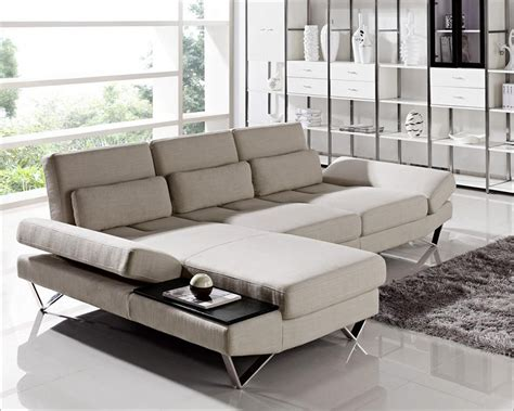 sectional sofa set contemporary sectional sofa set in fabric 44l6056