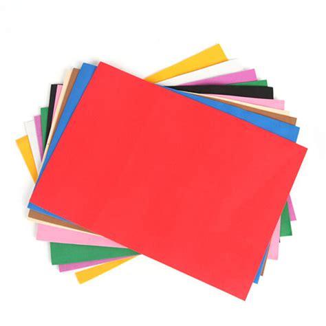 thick craft paper 10pcs lot diy wholesale 20 30 0 1cm thick multicolor