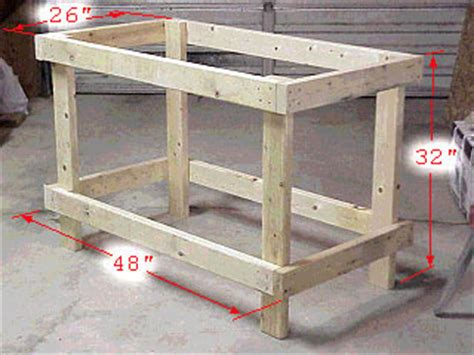 building a woodworking bench plans needed to build a simple workbench pirate4x4