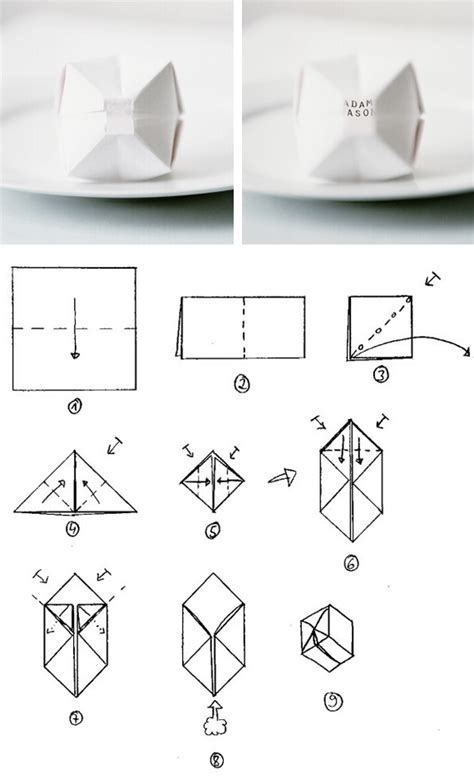 how to make an origami paper balloon origami balloon place cards