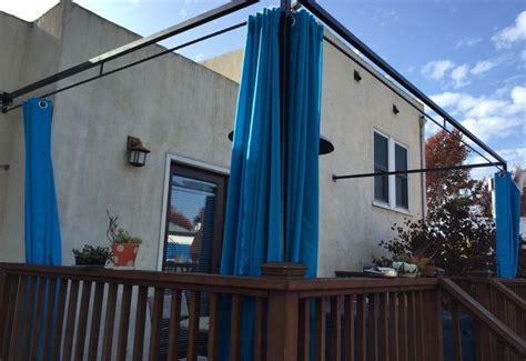Double Curtain Rods Ikea by How To Customize Your Outdoor Areas With Privacy Screens