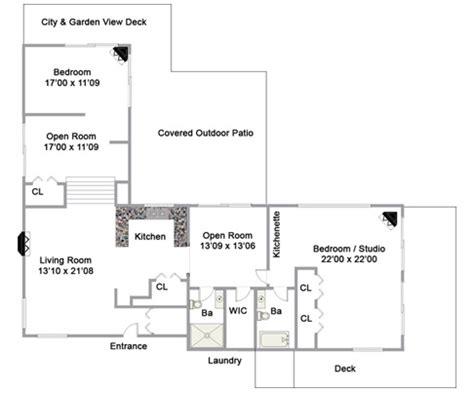 detached guest house plans floor plans detached guest house