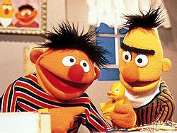 sesame rubber sts bert and ernie