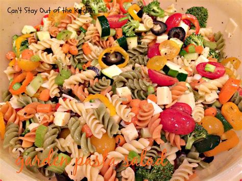 garden pasta salad can t stay out of the kitchen