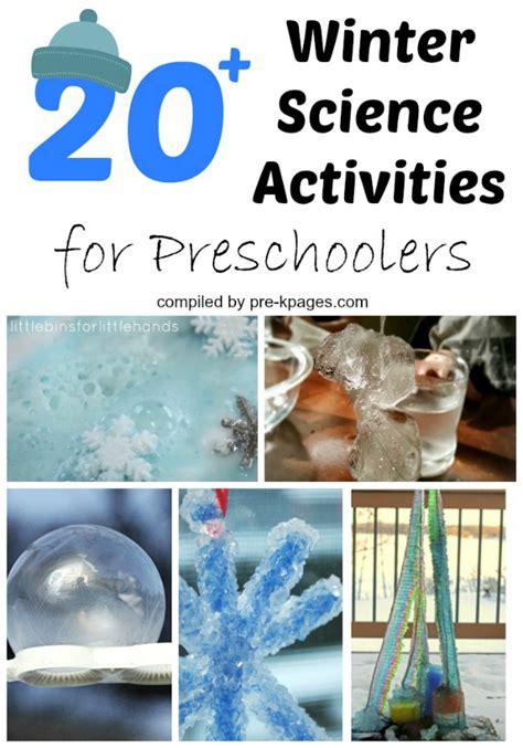 science crafts for winter science activities for preschoolers