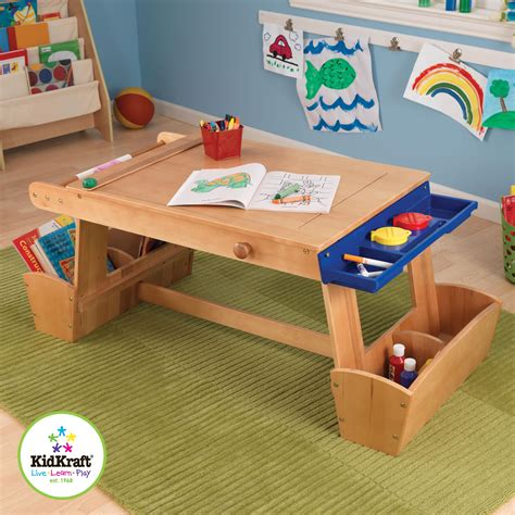 Kidkraft Table With Drying Rack Storage By Oj