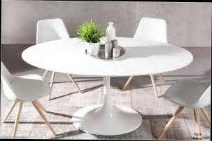table basse blanche ronde pas cher table ronde tulipe 120 cm fibre de verre blanc id 233 es de