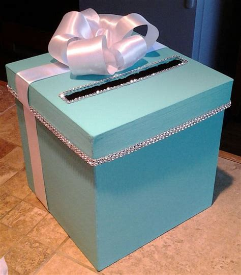 how to make a baby shower card box card box with personalization for a wedding baby shower