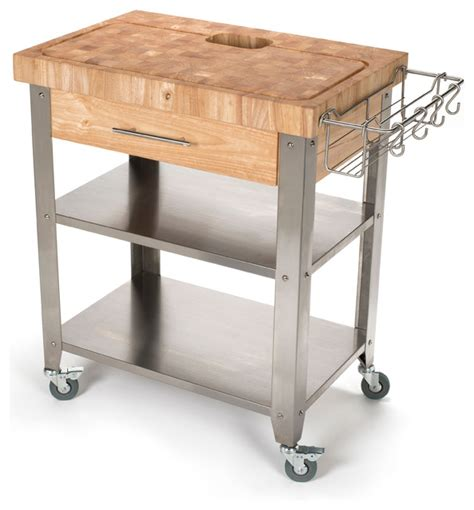 Kitchen Islands With Drop Leaf stadium series kitchen work station end grain top