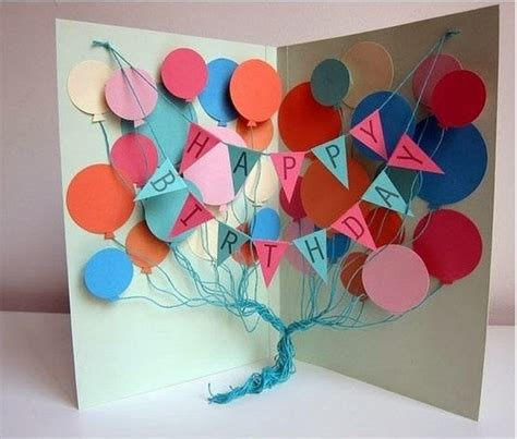 make your birthday card popular diy crafts how to make your own birthday cards
