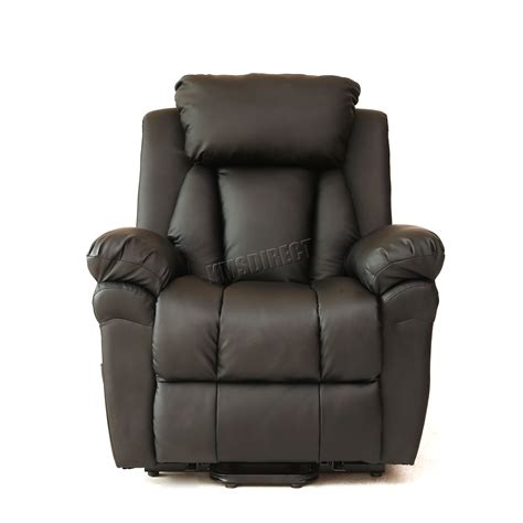 Heat Chair by Faux Leather Rise Recliner Mobility Tilt Lift Arm