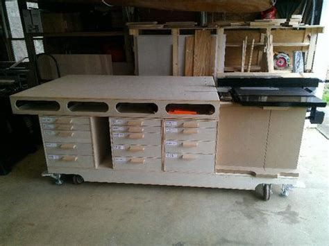 mobile woodworking shop ultimate mobile woodworking bench umwb 9 overall