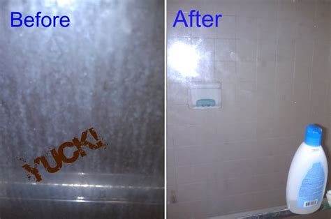 shower glass door cleaner keeping a glass shower door clean for 6 months