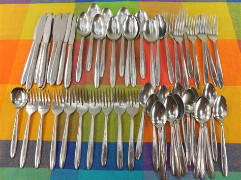 Vintage Kitchen Knives sohnaco japan mid century stainless flatware atomic