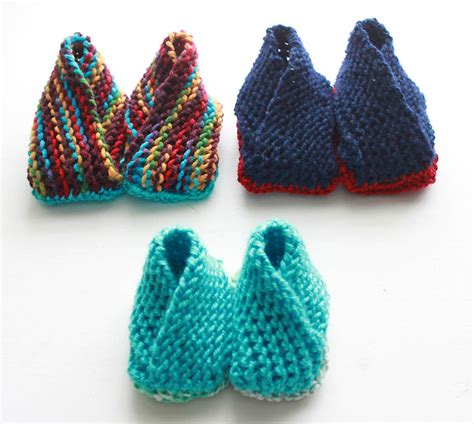 how to knit booties for adults crossover booties now with additional sizes knitting
