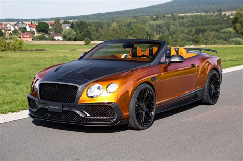 Bentley Continental Gtc official mansory bentley continental gtc gtspirit