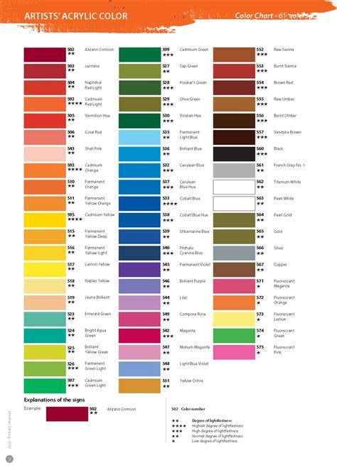 folk acrylic paint colors